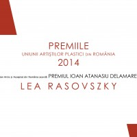 premiul Ioan Atanasiu Delamare - 2014 - Lea Rasovszky