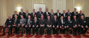 Delegații participanți la cea de a 52-a Conferință a Suveranilor Mari Comandori din Europa și Tările Asociate